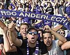Foto: Match arrêté: Anderlecht convoqué le 25 avril
