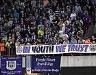 """Foto: Les Anderlechtois en colère: """"Vous êtes en train de tuer le foot"""""""