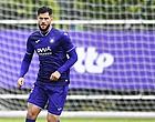 Foto: Anderlecht ne rigole pas avec Cobbaut