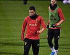 """Foto: Hazard: """"C'est le meilleur attaquant du monde, tant mieux s'il n'est pas repris"""""""