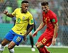 Foto: Neymar s'attaque aux Diables Rouges !