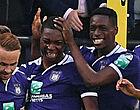 Foto: Coup double pour Anderlecht:  top et flop