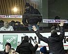 Foto: Le clash entre les supporters de Bruges et Vanden Borre