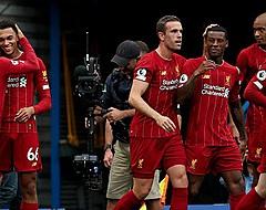 Liverpool frappe du poing sur la table en s'imposant à Chelsea