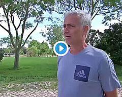 """Mourinho sanglote en pleine ITW: """"Cela me manque d'entraîner"""" 🎥"""