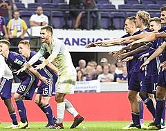 Anderlecht est seul en tête!