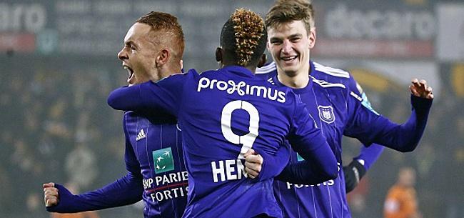 Foto: Un absent de marque à l'entrainement d'Anderlecht!
