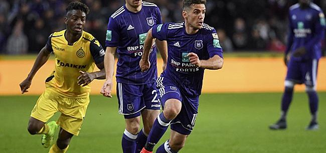 Foto: Dix joueurs d'Anderlecht seront en fin de contrat en juin prochain