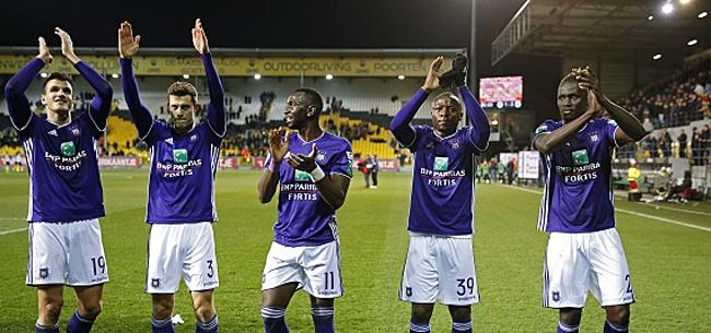 Foto: Sonck tuyaute Anderlecht pour le mercato :