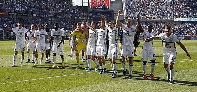 Foto: Le transfert d'été d'Anderlecht partira sans une minute de jeu