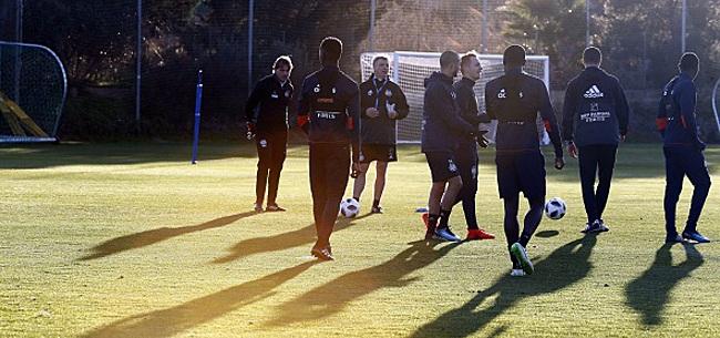 Foto: Vanhaezebrouck ne va pas repousser ces gars-là
