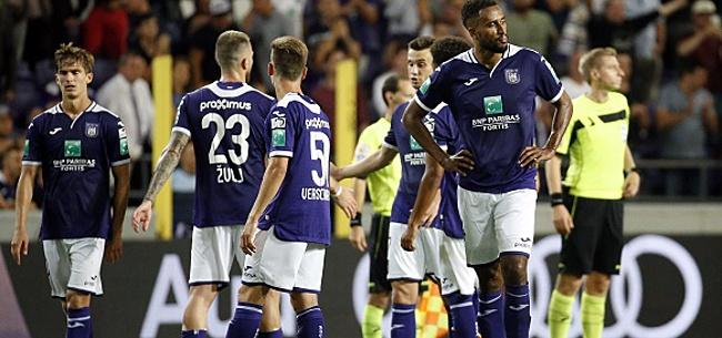 Foto: Anderlecht: critiqué en interne mais pas trop longtemps