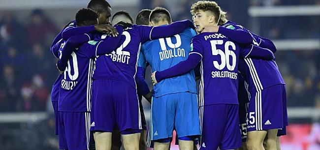 Foto: Encore deux forfaits à Anderlecht?