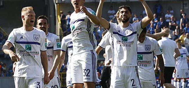 Foto: Que va faire Anderlecht de ces sept bleus?