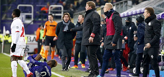 Foto: Anderlecht charge le Standard: