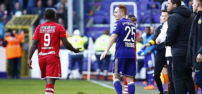 Foto: Trois matchs de suspension pour Trebel? Hors de question pour Anderlecht