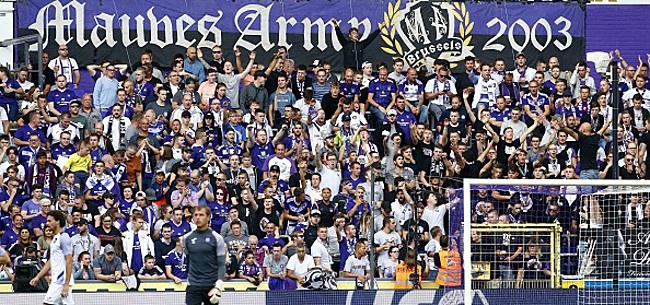 Foto: La communication d'Anderlecht fortement critiquée: