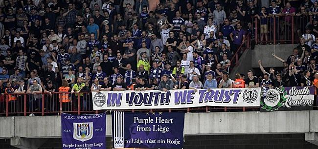 Foto: Anderlecht tente de calmer ses fans: