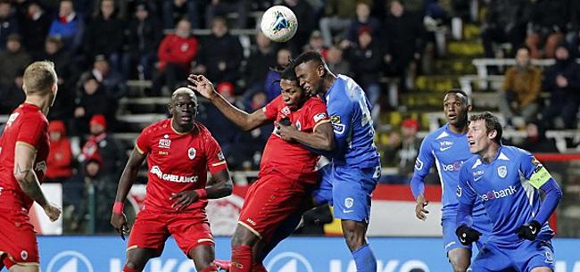 Foto: Genk fait trébucher l'Antwerp, Charleroi grand vainqueur du weekend