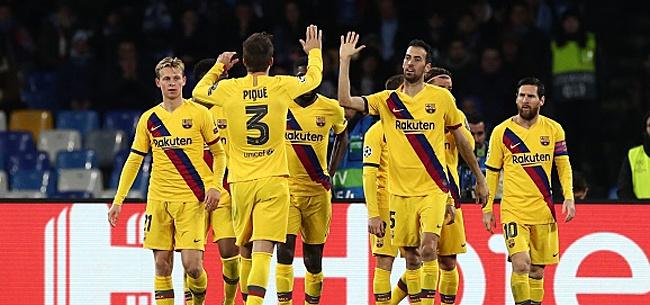 Foto: Le comportement des joueurs du FC Barcelone choque l'Espagne !
