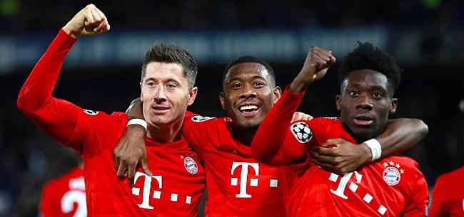 Foto: Le Bayern écrase Chelsea, Naples et Barcelone se quittent dos à dos
