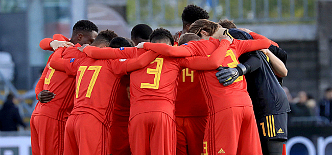 Foto: Euro U17 - La Belgique devra gagner ce jeudi pour aller au Mondial !