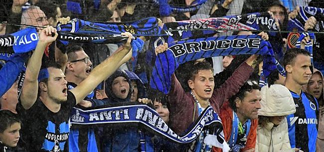 Foto: Pas de poursuites contre les supporters brugeois et leurs chants antisémites