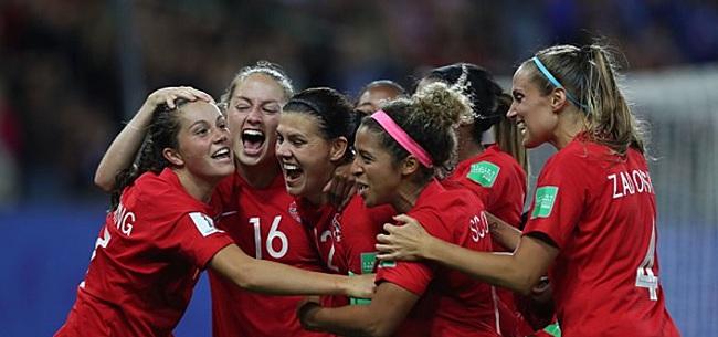 Foto: COUPE DU MONDE Le Canada rejoint les Pays-Bas en huitièmes