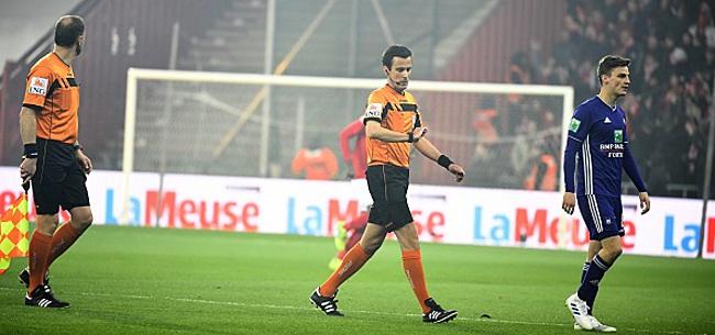 Foto: L'Unon Belge prend une mesure suite aux incidents lors de Standard - Anderlecht