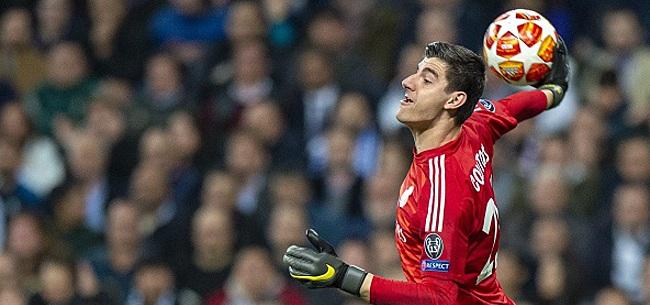 Foto: Ce lundi soir, Courtois ne sera toujours pas dans les buts du Real Madrid