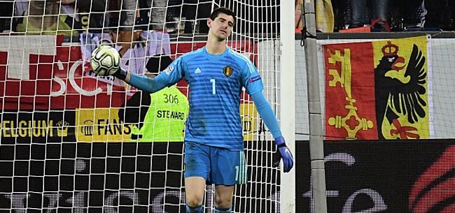 Foto: Thibaut Courtois pas repris avec le Real ce jeudi