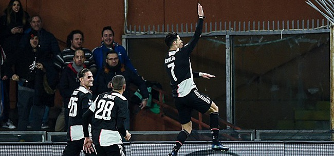 Foto: Cristiano Ronaldo est le roi du hashtag, un Belge sur le podium