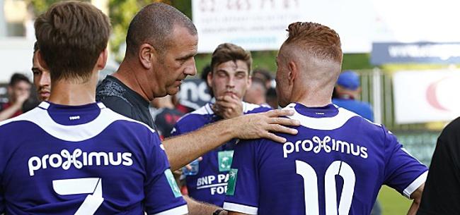 Foto: Trebel divise Anderlecht et un transfert n'est pas exclu