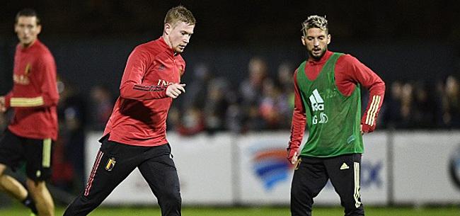 Foto: Dries Mertens en route vers la Premier League?