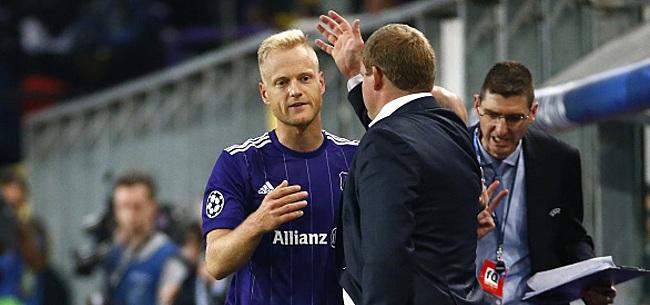 Foto: Olivier Deschacht va à nouveau porter le maillot d'Anderlecht