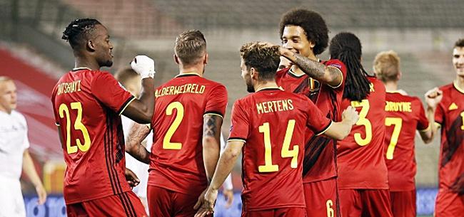 Foto: La Belgique conserve sa première place au classement FIFA