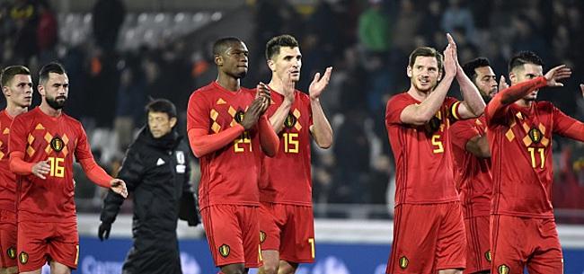 Foto: Cette équipe a fait une proposition à la Belgique pour un match amical