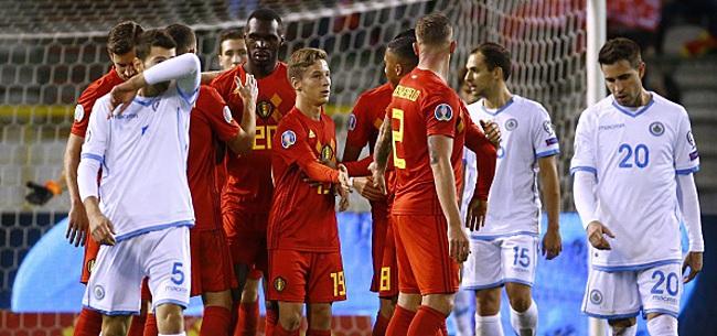 Foto: La Belgique ira bien à l'Euro! Mais le record n'est pas battu
