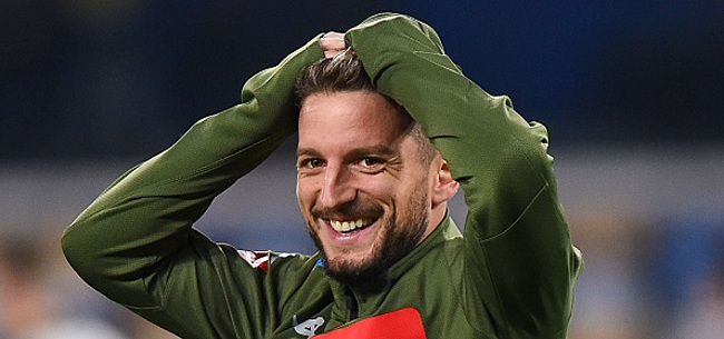 Foto: Dries Mertens ouvre le score et égale le record de Hamsik (VIDEO)