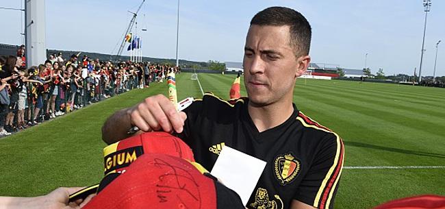 Foto: Courtois révèle ce qui attend Hazard jeudi:
