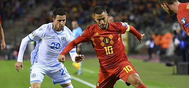 Foto: Hazard et Lukaku pas satisfaits: que voulaient-ils de plus?