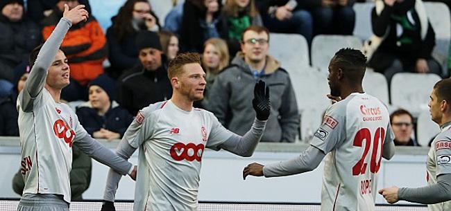 Foto: Le Standardman au poste, l'Anderlechtois au repos