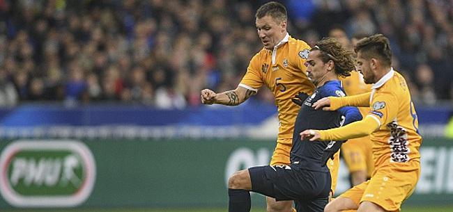Foto: Le sélectionneur moldave pousse un coup de gueule après la défaite en France