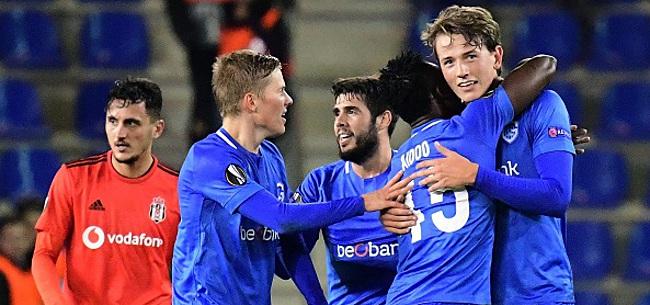 Foto: Europa League - Genk sauve l'honneur des clubs belges