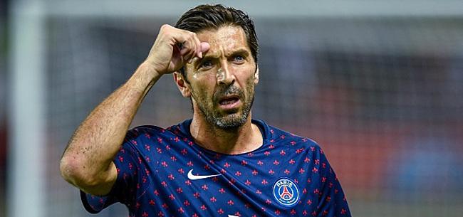 Foto: OFFICIEL - Buffon s'en va du PSG