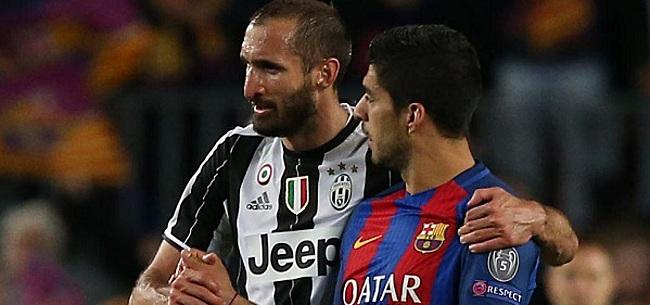 Foto: Chiellini a pardonné à Suarez: