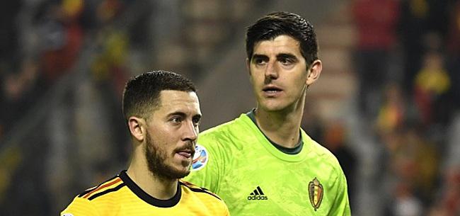 Foto: Courtois l'avoue: jouer au Real avec Hazard, c'était prévu depuis longtemps!