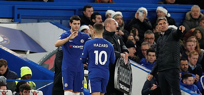 Foto: Morata met Chelsea en garde au sujet de Hazard