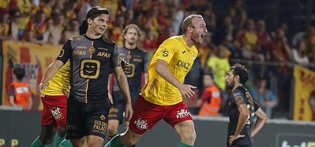 Foto: Ostende bat le Cercle, son nouvel attaquant marque déjà