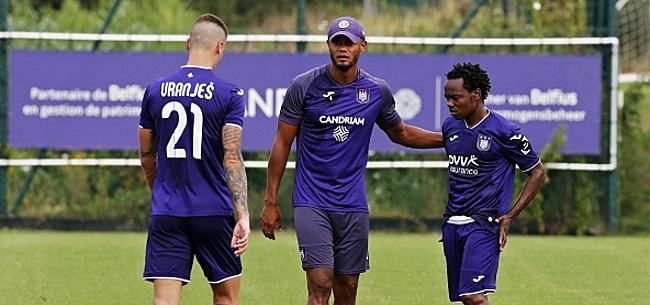 Foto: Anderlecht retourne plusieurs mois en arrière
